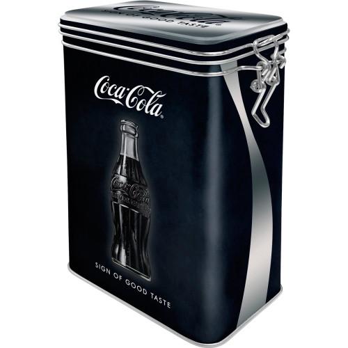 Коробка для хранения с фиксатором Nostalgic-Art Coca-Cola - Sign Of Good Taste (31101)