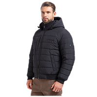 Мужская осенняя куртка Finn Flare A17-21009 чёрного цвета