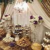 Свадебный Кенди Бар в золотом цвете, фото 2