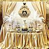 Свадебный Кенди Бар в золотом цвете, фото 4