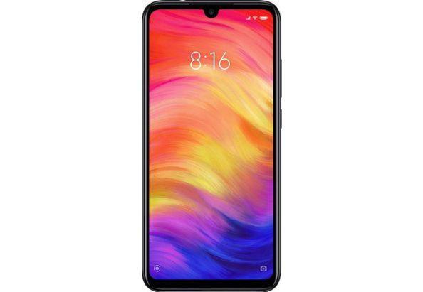 Смартфон с двойной камерой 48+5Мп и мощной батареей с большим экраном 4/64Gb Xiaomi Redmi Note 7 черный