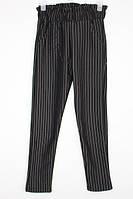 Шкільні брюки-джогери для дівчинки: 9130 чорний
