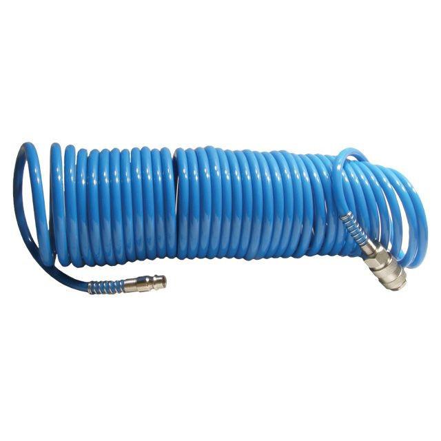 Шланг спиральный полиуретановый 10 м, INTERTOOL (PT-1707)