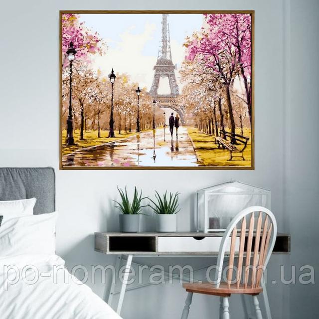 картина по номерам с рамкой Париж купить в украине