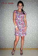 """Женское летнее платье из штапеля RIO"""" I.V.A.-MODA""""-большие размеры, фото 1"""
