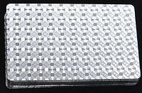 Игральные карты Silver пластиковые