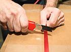 Нож WURTH с 3 черными сменными ломкими лезвиями 18 мм, фото 2