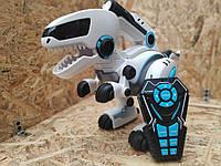 Большой интерактивный дионзвар - робот на пульте управления Lait с пушком кушает, какает, стреляет, танцует