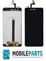 Дисплей для Zte Nubia Z11 Mini с сенсорным стеклом (Черный) Оригинал Китай