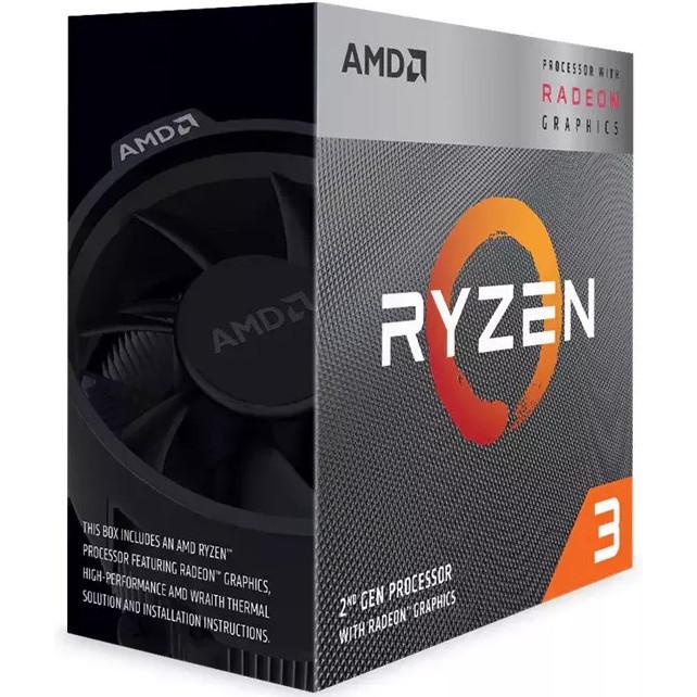 "Процессор AMD Ryzen 3 3200G 3,6 ГГц (YD3200C5FHBOX) BOX ""Over-Stock"" Б/У"