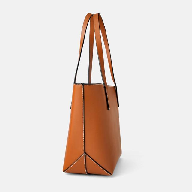 Женская сумка-шоппер мини-формата Zara