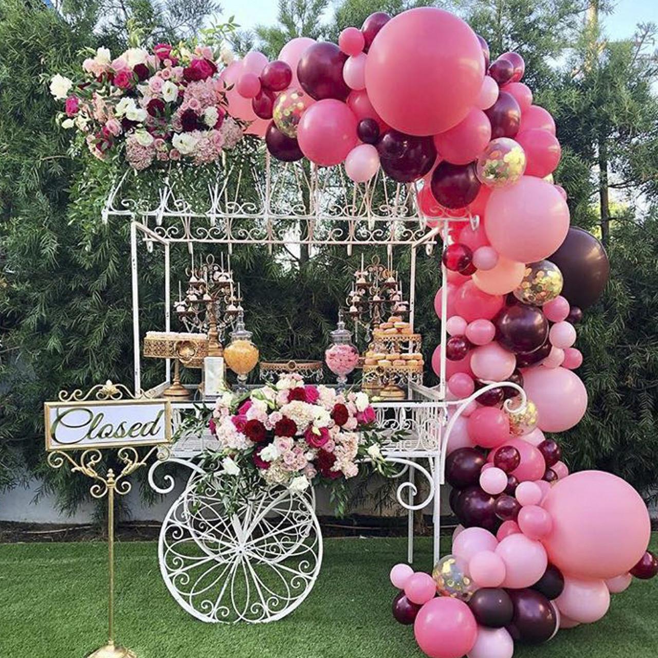 Свадебный Кенди Бар на карете