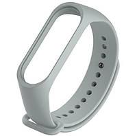 Силиконовый ремешок для фитнес-браслета Xiaomi Mi Band 4 - Grey