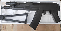 Автомат P.47A металло-пластик на пластиковых пулях 78 см