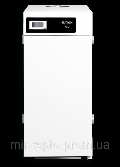 Отопительный котел АТОН (Красилов) Атмо-12,5Е(дымоходный, одноконтурный)