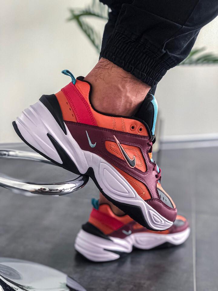 Женские кроссовки Nike M2K Tekno Mahogany mink-black