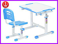 Комплект Evo-kids стул+стол Evo-07 Blue, фото 1