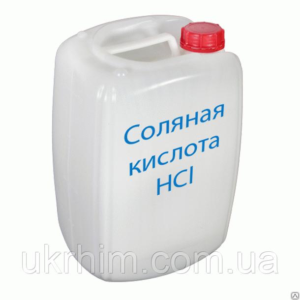 Соляная кислота 13% Канистра 10 л. 10.63 кг.