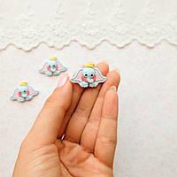 Декор миниатюра «Слоник с шапочкой»  -2*3 см