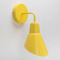 Настенный светильник Nils желтый