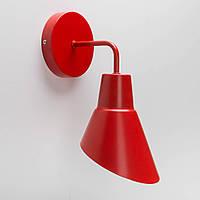 Настенный светильник Nils красный