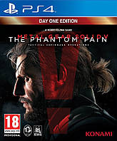 Metal Gear Solid 5 The Phantom Pain Day One Edition ps4