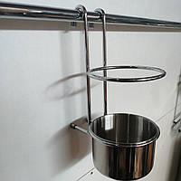 Полиця на рейлінг для кухонних приладів 195*115*160 мм, фото 1