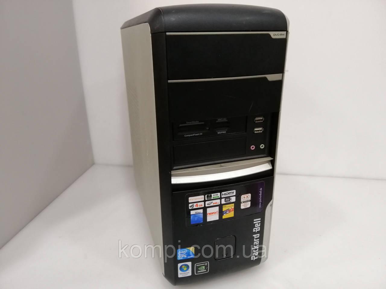 Системний блок Packard Bell  (Core2QUAD Q8200/4Gb DDR2/DVDRW/200gb HDD/VIDEO ATI 4350)