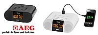 Радиочасы+будильник AEG (Оригинал)Германия