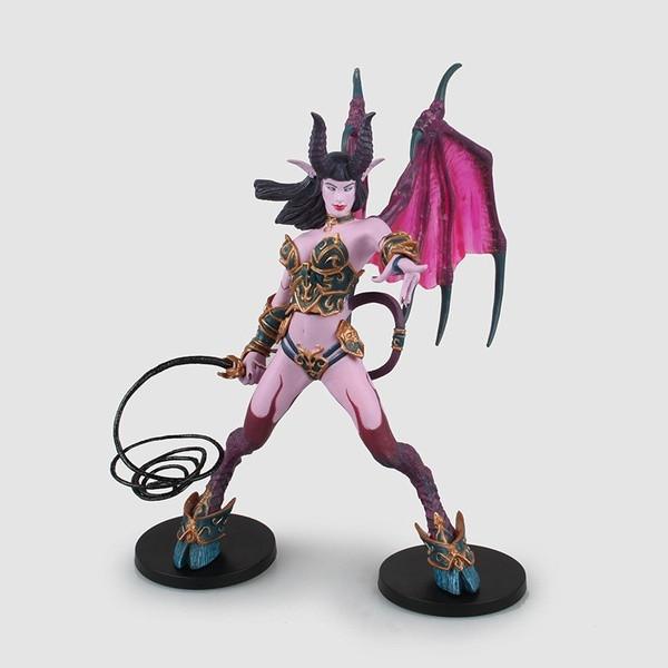 Колекційна фігурка Варкрафт Демон Суккуб Бурштиновий плющ - World of Warcraft Amberlash Succubus Demon