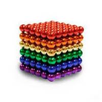 Магнитные шарики, нео куб цветной  Toy Игрушка NEO CUB MIX  цветной
