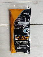 Станок одноразовый Bic Metal 5 шт