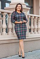 Женское платье 093 весна-осень большой размер (50 52 54 56) СП