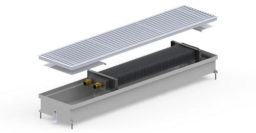 Конвектор внутрипольный S-(Inox) 230/400/90 Carrera