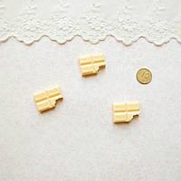 Декор миниатюра Шоколад молочный- 2,5*2 см