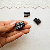 Декор миниатюра Шоколад черный - 2,5*2 см