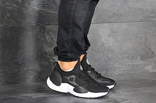 Черные кроссовки с белой подошвой, фото 2