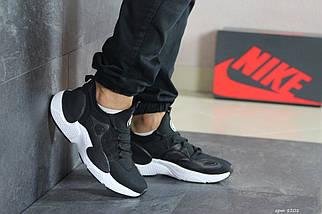 Черные кроссовки с белой подошвой, фото 3