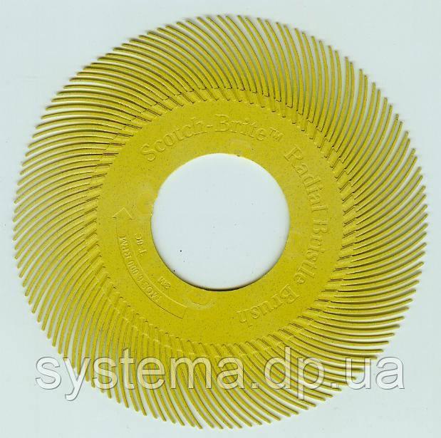 Радиальный круг Scotch-Brite™ Bristle BB-ZB 150мм P80 желтый