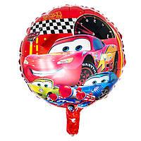 """Надувной детский шар """"Макквин"""" для гелия\воздуха d=45см. фольга"""