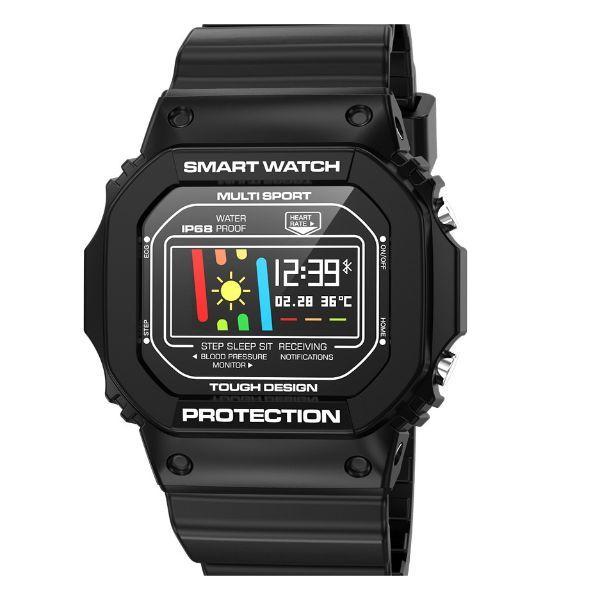UWatch Детские часы Smart X12 Sport Black