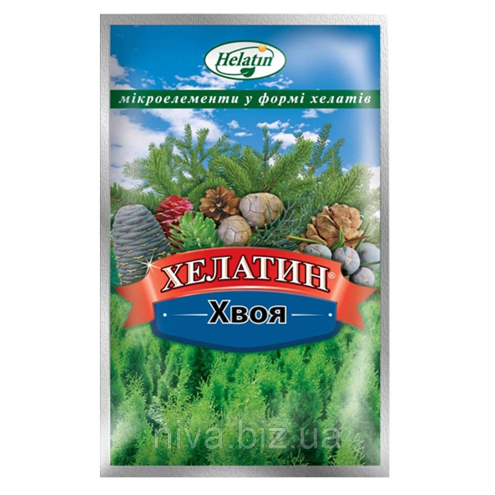 Хелатин Хвоя комплексне концентроване мікродобриво Україна 50 мл