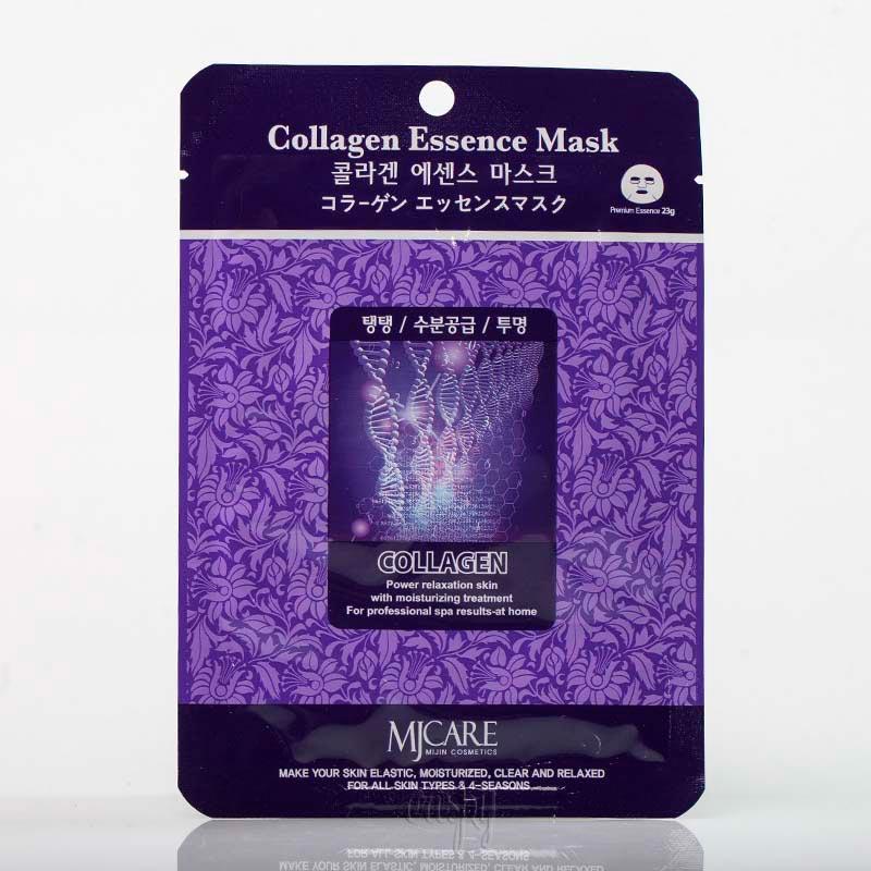 Омолаживающая маска для лица с коллагеном Mj Care collagen Essence Mask