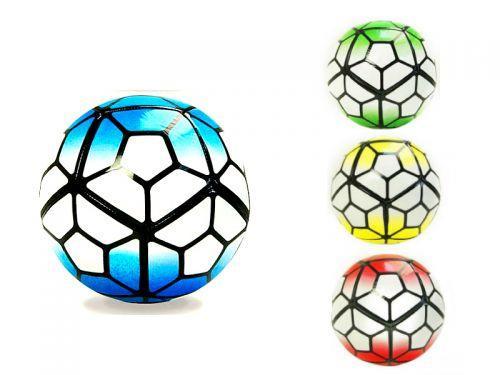 Мяч футбол FB0414 (60шт)PVC 320г, 3 цвета scs