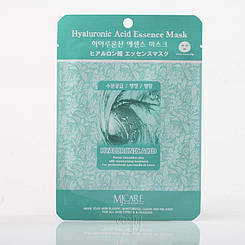 Тканевая маска для лица с гиалуроновой кислотой MJ CARE Hyaluronic Acid Essence Mask