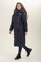 Модная зимняя женская куртка  пальто  (46-56), доставка по Украине