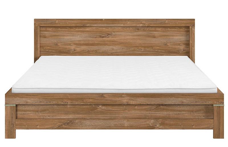 Кровать LOZ/160 GENT BRW дуб стирлинг