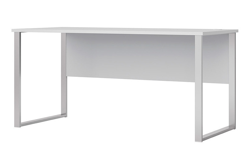 Стол письменный BIU/160/73 OFFICE LUX BRW светло-серый