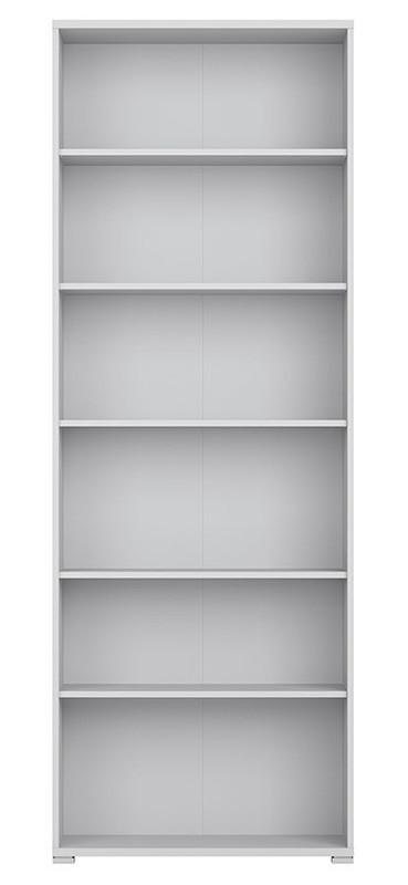 Стеллаж REG/79/220 OFFICE LUX BRW светло-серый