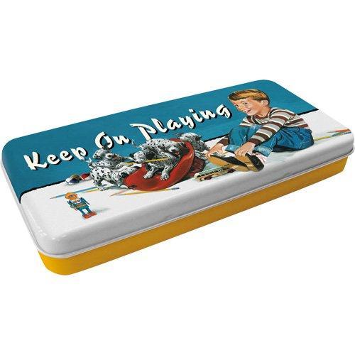 Коробка для карандашей Nostalgic-Art Keep On Playing